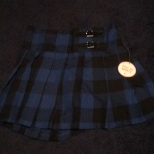 Justice, Brand new plaid skirt with tags